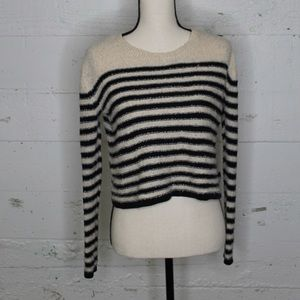 BP size XS striped crew neck sweater